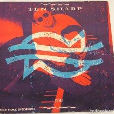 Disques de vinyle: TEN SHARP - YOU - 1991 SONY MUSIC SPAIN. Lote 109061827
