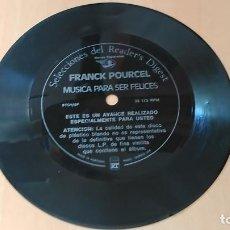 Discos de vinilo: FRANCK POURCEL - MUSICA PARA SER FELICES (FLEXIDISC). Lote 109073295
