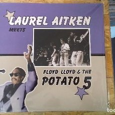 Discos de vinilo: LP LAUREL AITKEN MEETS FLOYD LLOYD AND THE POTATO 5 SKA REGGAE JAMAICA. Lote 109075023