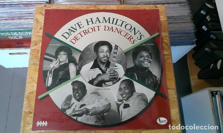 LP VARIOS DAVE HAMILTON'S DETROIT DANCERS SOUL RECOPILATORIO (Música - Discos - LP Vinilo - Jazz, Jazz-Rock, Blues y R&B)
