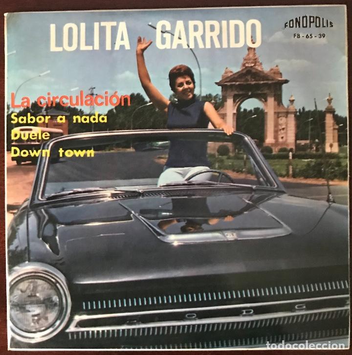 """LOLITA GARRIDO """"LA CIRCULACIÓN"""" FONOPOLIS EP (Música - Discos - Singles Vinilo - Solistas Españoles de los 50 y 60)"""