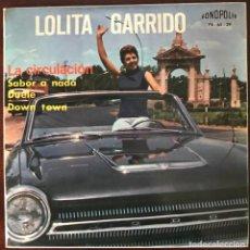 """Discos de vinilo: LOLITA GARRIDO """"LA CIRCULACIÓN"""" FONOPOLIS EP. Lote 109078247"""