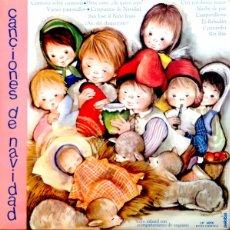 Discos de vinilo: CORO INFANTIL ACOMPAÑADO DE ORQUESTA, CANCIONES DE NAVIDAD - PALOBAL 4056, LP DE 1967 - SOLO PORTADA. Lote 109078724