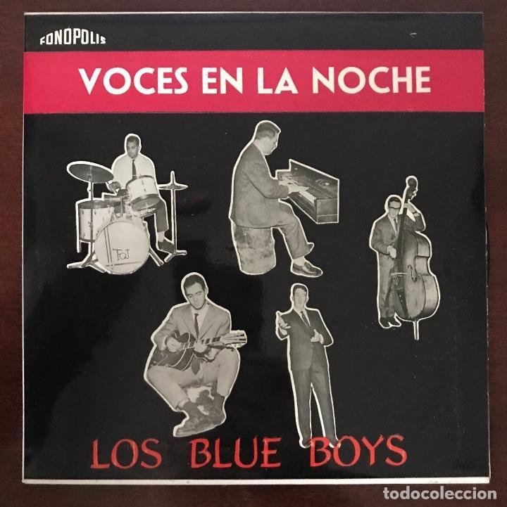 """LOS BLUE BOYS """" VOCES EN LA NOCHE """" FONOPOLIS EP (Música - Discos de Vinilo - Maxi Singles - Jazz, Jazz-Rock, Blues y R&B)"""