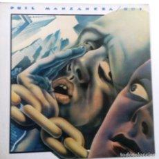 Discos de vinilo: PHIL MANZANERA 801 - SPAIN LP 1977+INSERT- ROXY MUSIC- VINILO COMO NUEVO.. Lote 109083551