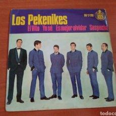 Discos de vinilo: LOS PEKENIKES. SINGLE 1964. EL VITO/ YO SE.. Lote 109086730
