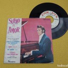 Discos de vinilo: SUEÑO DE AMOR FRANZ LISZT MORRIS STOLOFF JORGE BOLET (EX-/EX-) SPAIN EDIT 7 SINGLE Ç. Lote 109086863