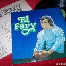 Discos de vinilo: EL FARY - YO ME ESTOY ENAMORANDO ...LP DE 1979 - MUY RARO Y DIFICIL - MOVIEPLAY - MUY BUEN ESTADO. Lote 112472582