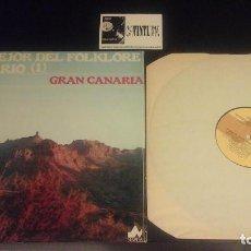 Discos de vinilo: LO MEJOR DEL FLOKLORE CANARIO - GRAN CANARIA LP NEVADA. Lote 109116435