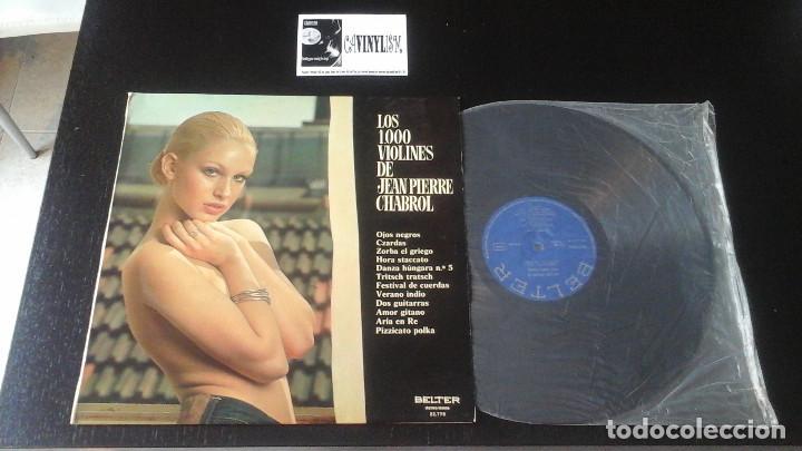 LOS 1000 VIOLINES DE JEAN PIERRE CHABROL LP BELTER (Música - Discos de Vinilo - Maxi Singles - Orquestas)