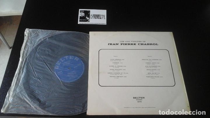 Discos de vinilo: LOS 1000 VIOLINES DE JEAN PIERRE CHABROL LP BELTER - Foto 2 - 109117091