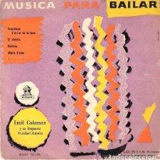 Discos de vinilo: EMIL COLEMAN, MUSICA PARA BAILAR: ORQUIDEAS A LA LUZ DE LA LUNA + 3 TEMAS, EP ODEON. Lote 109121771