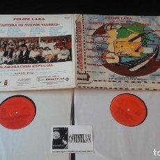 Discos de vinilo: FELIPE LARA-CANTERA DE NUEVOS VALORES LP VINILO 1989 DOBLE FIRMADO POR FELIPE LARA. Lote 109123059