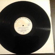 Discos de vinilo: COMMODORES – UNITED IN LOVE MAXI: POLYDOR – POSPX 866 DJ PROMO. Lote 109133963