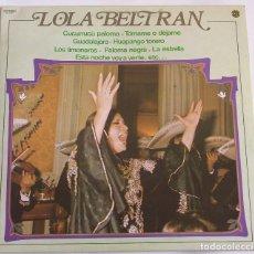 Discos de vinilo: LOLA BELTRAN - DIAL DISCOS - 1981. Lote 109137271