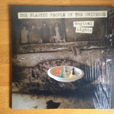 Discos de vinilo: THE PLASTIC PEOPLE OF THE UNIVERSE: MAGICAL NIGHTS (3 LPS). Lote 109137556