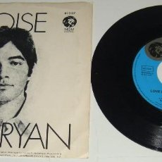 Discos de vinilo: SINGLE - BARRY RYAN - ELOISE / LOVE I ALMOST FOUND YOU - BARRY RYAN. Lote 109139551