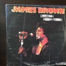 Discos de vinilo: LIVE IN NEW YORK. JAMES BROWN. Lote 109140020