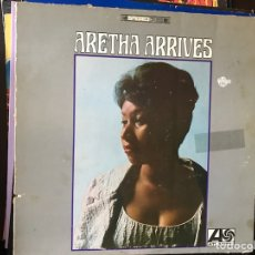 Discos de vinilo: ARETHA ARRIVES.. ARETHA FRANKLIN. Lote 109140612