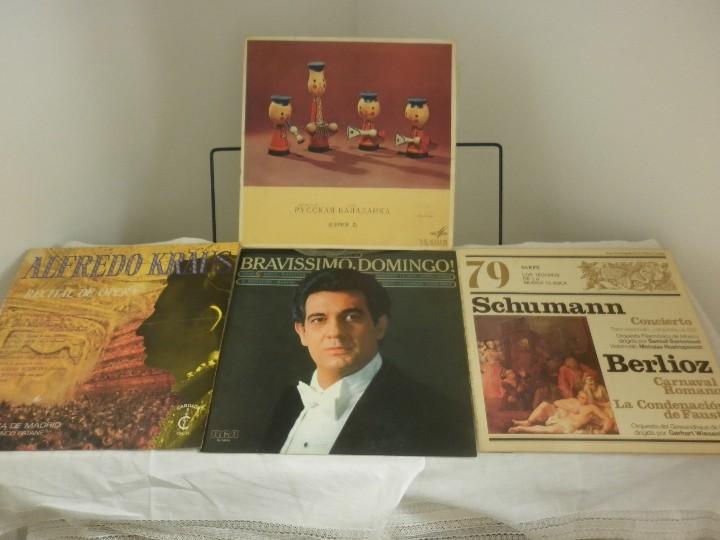 LOTE DE 17 DISCOS ANTERIORES A 1985 (Música - Discos - Singles Vinilo - Clásica, Ópera, Zarzuela y Marchas)