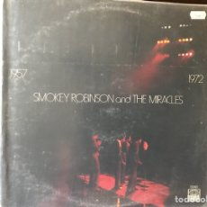 Discos de vinilo: SMOKEY ROBINSON AND THE MIRACLES 1.957-1.972. Lote 109148571