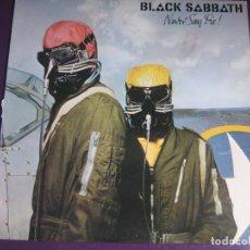 Discos de vinilo: BLACK SABBATH LP WEA 1978 EDICION USA - NEVER SAY DIE - HEAVY METAL. Lote 109149143