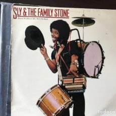 Discos de vinilo: HEARD YA MISSED ME, WHEN I'M BACK. SLY& THE FAMILY STONE. Lote 109149174