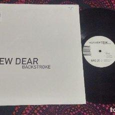 Discos de vinilo: MATTHEW DEAR – BACKSTROKE. Lote 109149707