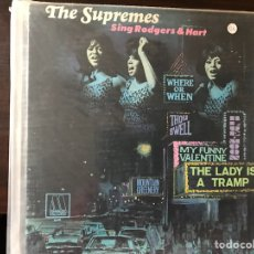 Discos de vinilo: SING RODGERS & HART. THE SUPREMES. Lote 109149791