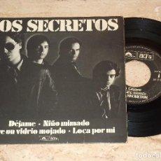 Discos de vinilo: LOS SECRETOS -DEJAME +3 - EP - 1980 ESPAÑA SERIE LIMITADA NUMERADA . Lote 109152219