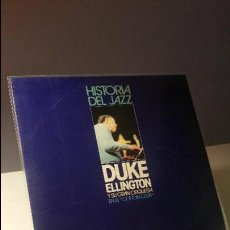 Discos de vinilo: DUKE ELLINGTON Y SU GRAN ORQUESTA DEL COTTON CLUB HISTORIA DEL JAZZ. LP. Lote 109152639
