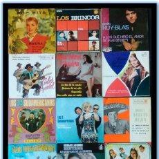 Discos de vinilo: 15 SINGLES ESPAÑA Y LATINOAMERICA 60´S - 70,S. BRINCOS, RUY-BLAS, PRADERA, LUENGO, 3 SUDAMERICANOS. Lote 109153623