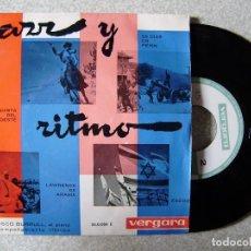 Discos de vinilo: JAZZ Y RITMO.FRANCISCO BURRULL Y ORQUESTA..LAWRENCE DE ARABIA + 3...RARO...EX. Lote 109161115