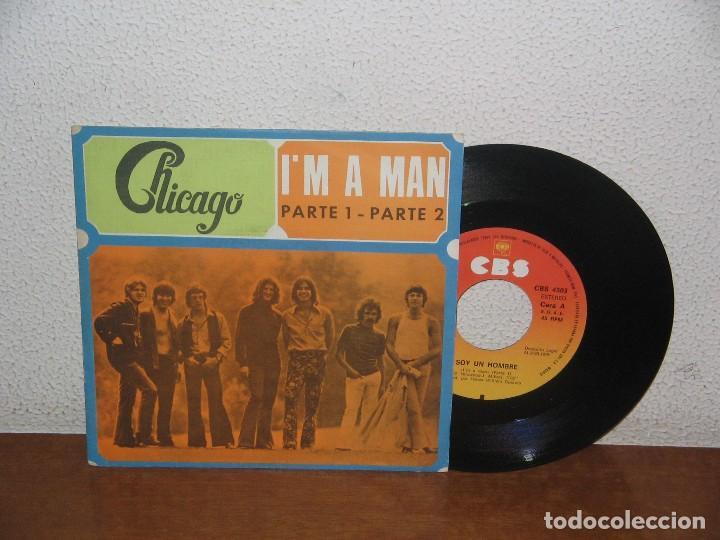 CHICAGO 7´´ MEGA RARE VINTAGE SPAIN 1970 (Música - Discos - Singles Vinilo - Pop - Rock - Internacional de los 70)