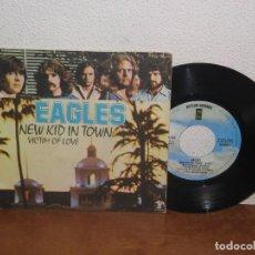 Discos de vinilo: EAGLES 7´´ MEGA RARE VINTAGE SPAIN 1976. Lote 109165139