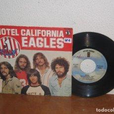 Discos de vinilo: EAGLES 7´´ MEGA RARE VINTAGE SPAIN 1977. Lote 109165651