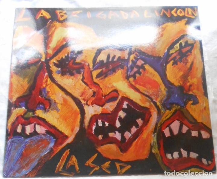 LA BRIGADA LINCOLN EL GITANO MAXI CON ENCARTE INTERIOR ESPAÑA 1987 NUEVO SIN USAR (Música - Discos de Vinilo - Maxi Singles - Grupos Españoles de los 70 y 80)