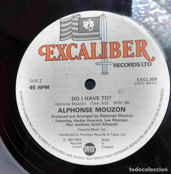 ALPHONSE MOUZON – BY ALL MEANS. EDICION UK (Música - Discos de Vinilo - Maxi Singles - Jazz, Jazz-Rock, Blues y R&B)