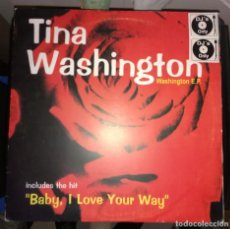 Discos de vinilo: TINA WASHINGTON-WASHINGTON EP. Lote 109169739