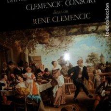 Discos de vinilo: DANSES ANCIENNES DE HONGRIE, CLEMENCIC CONSORT. Lote 109174131