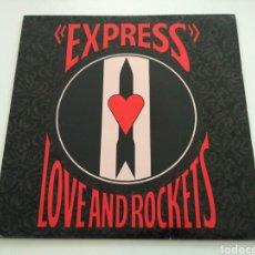 Discos de vinilo: LOVE AND ROCKETS - EXPRESS (LP). Lote 109175864