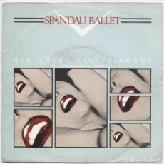 Discos de vinilo: SPANDAU BALLET ?– SHE LOVED LIKE DIAMOND = ELLA AMABA COMO EL DIAMANTE_7'' PROMO SPAIN 1982. Lote 109177047