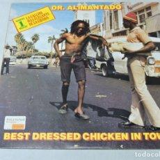 Discos de vinilo: DR. ALIMANTADO - BEST DRESSED CHICKEN IN TOWN LP 1980 SPAIN. Lote 109182371