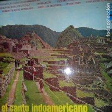 Discos de vinilo: EL CANTO INDOAMERICANO, LOS HUMAHUACAS. Lote 109184879