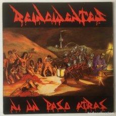 Discos de vinilo: REINCIDENTES. NI UN PASO ATRÁS. DISCOS SUICIDAS, 1991. LP. Lote 109188167