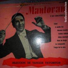 Discos de vinilo: MANTOVANI Y SU ORQUESTA, SELECCIÓN DE TANGOS FAVORITOS, DECCA. Lote 109188575