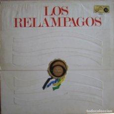 Discos de vinilo: RELÁMPAGOS, LOS: LOS RELÁMPAGOS (DANZA DE FUEGO) - ORIGINAL ZAFIRO / NOVOLA 6 PISTAS. Lote 109189299
