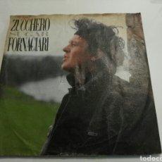 Discos de vinilo: ZUCCHERO FORNACIARI- SENZA UNA DONA/CON LE MANI- 45 RPM 7'' POLYDOR 1987 WEST GERMANY 6. Lote 109191128
