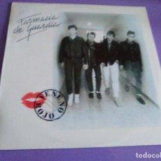 Discos de vinilo: FANTASTICO LP PUNK ESPAÑOL. FARMACIA DE GUARDIA. VENENO ROJO. SELLO 1987. + ENCARTE.. Lote 109192447