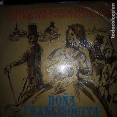 Discos de vinilo: DOÑA FRANCISQUITA, KRAUS. Lote 109194635